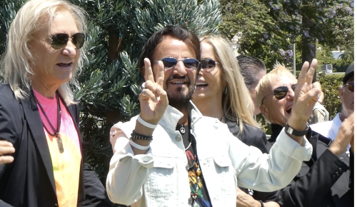 Ringo Starr Celebrates 81st Birthday With a Peace-and-Love Drive-By in Beverly Hills