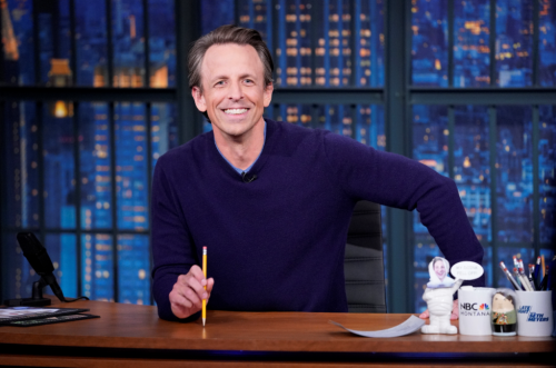 Why This Is Seth Meyers' Year
