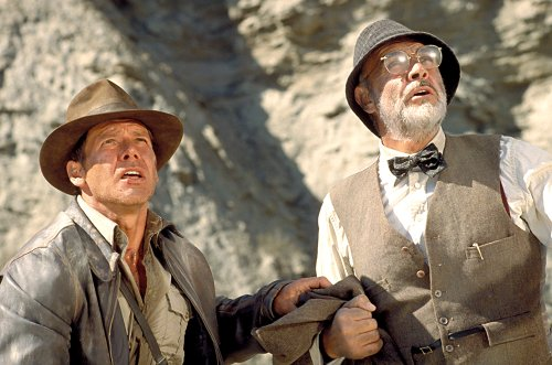 Harrison Ford Remembers His 'Indiana Jones' Dad Sean Connery