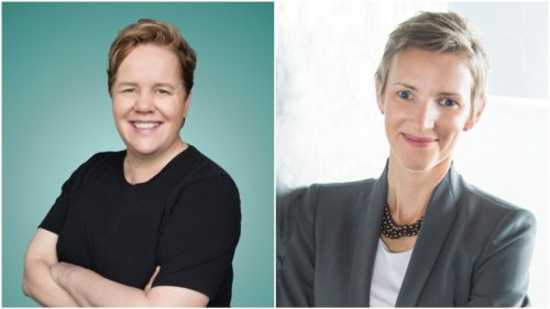 UTA Signs 'America's Leadership Doctors' Frances Frei and Anne Morriss