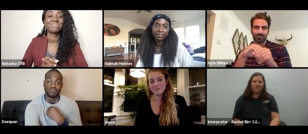 'Deaf U' Cast and Creators Talk Daequan Taylor's 'I Have a Dream' Speech, Representation of Language Fluency