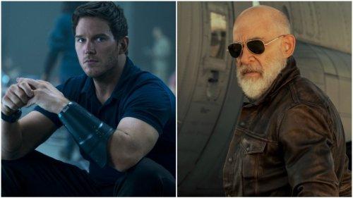 Chris Pratt Talks J.K. Simmons' 'Freakin' Jacked' Muscles and 'Fun' Underwater Scenes in 'The Tomorrow War'