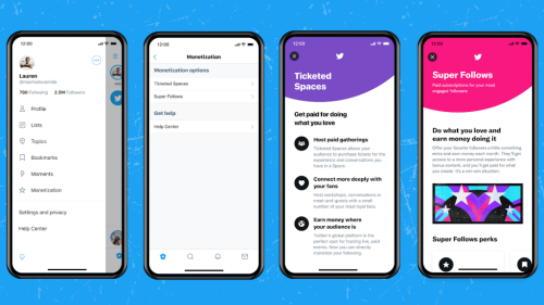 Twitter Promises Generous Revenue Split for 'Super Follows' Subscriptions, Ticketed Spaces