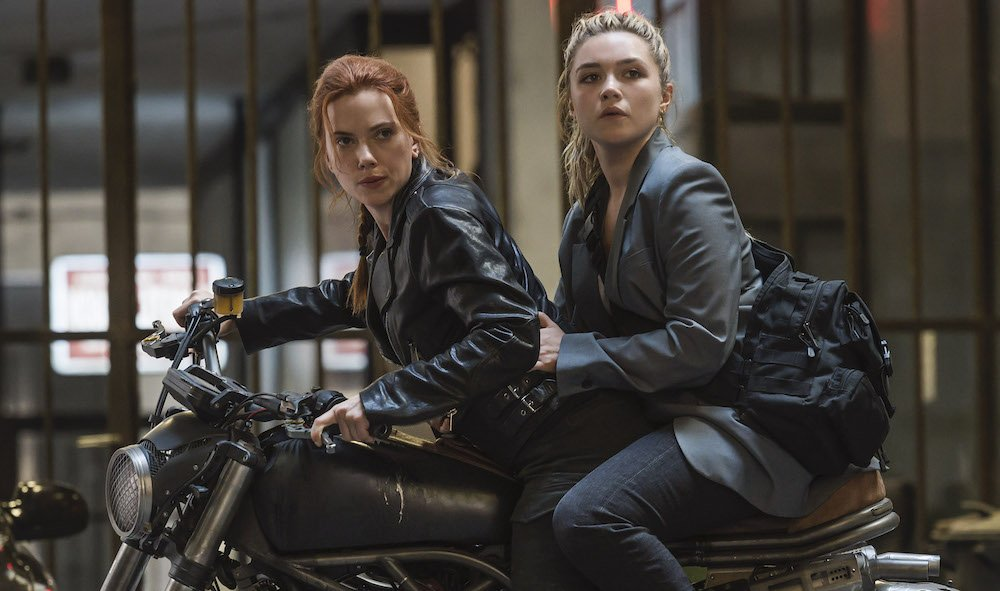 'Black Widow' Stars Scarlett Johansson and Florence Pugh on Their Epic Journey and Natasha's Final Bow