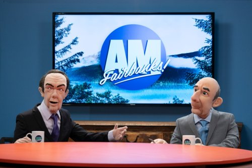 Watch Matt Lauer and Charlie Rose Up to Their Old Tricks, But on Alaska Morning TV, on Fox's 'Let's Be Real'