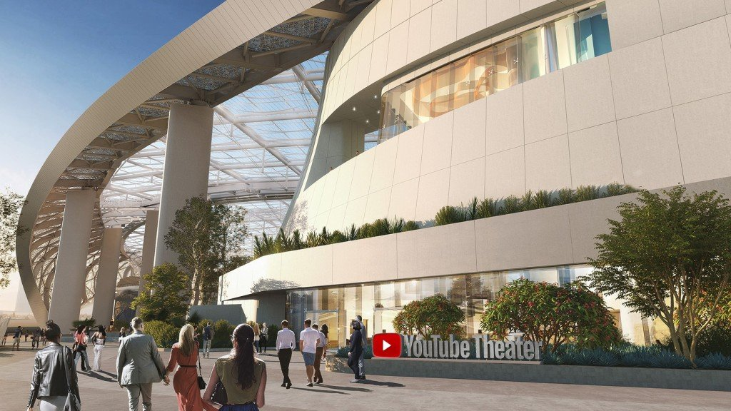YouTube Nabs Naming Rights to Theater at L.A.'s Hollywood Park Complex
