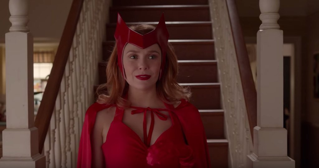 'WandaVision' Trailer Shows Surreal Footage of Scarlet Witch and Vision in Disney Plus Show