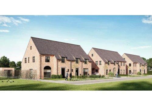 Vastgoed Unicum -     Kaprijke, Woning             - Half-open bebouwing in kwalitatieve, landelijke stijl - BINNENKORT TE KOOP vanaf dat de woningen wind- en waterdicht afgewerkt zijn.