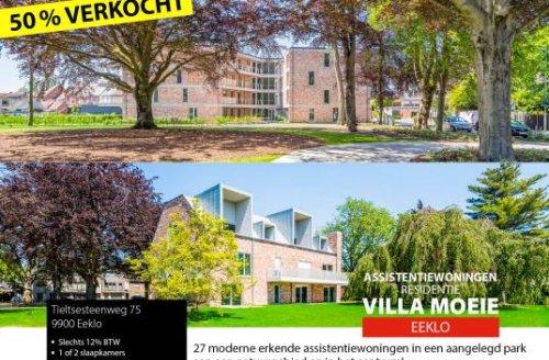 Vastgoed Unicum -             Villa Moeie - Moderne assistentiewoningen in aangelegd park!