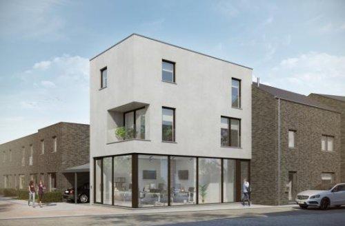 Vastgoed Unicum -             Gepersonaliseerde, energiezuinige nieuwbouwwoningen met 3 slpk, tuin en carport
