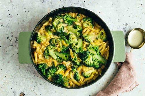 Brokkoli Zitronen Nudelauflauf (vegan & glutenfrei) — VEGANE VIBES
