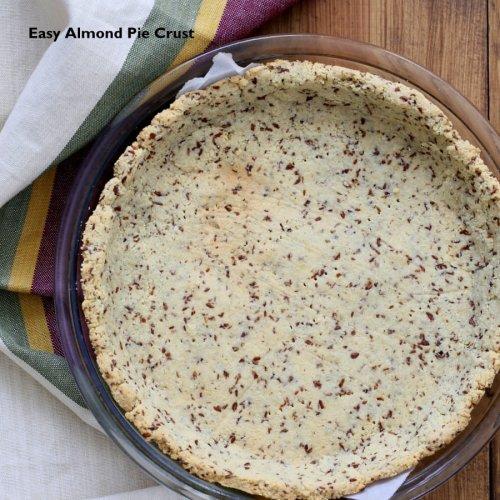 Easy Vegan Almond Flour Pie Crust (Low-Carb, Gluten-free, Grain-free)