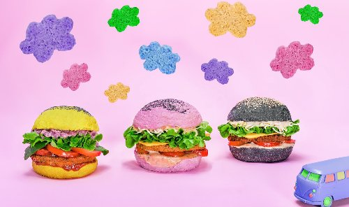 Europe's Colorful Vegan Burgers Just Launched in the US