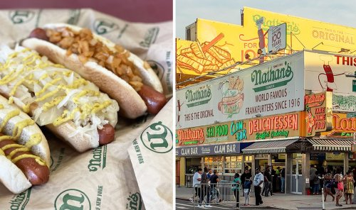 Nathan's Famous Just Launched Its First Vegan Hot Dog