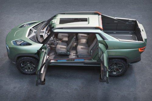 This New Honda Electric Pickup Truck Looks Insane, But Will It Challenge Tesla Cybertruck?