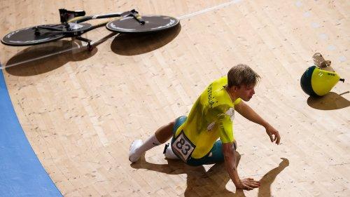 Tokyo Olympics: Australian Alexander Porter's bike suffers catastrophic breakage   VeloNews.com