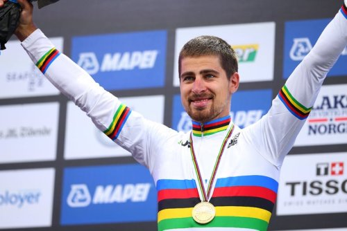 Peter Sagan chasing worlds history from under the radar