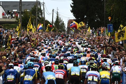A world championships for the ages: Peloton left in awe of 'stadium-like' crowds at Flanders