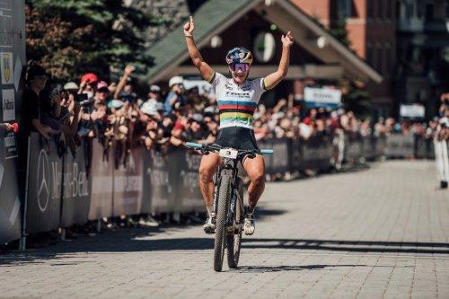 No rainbow curse for MTB world champion Evie Richards