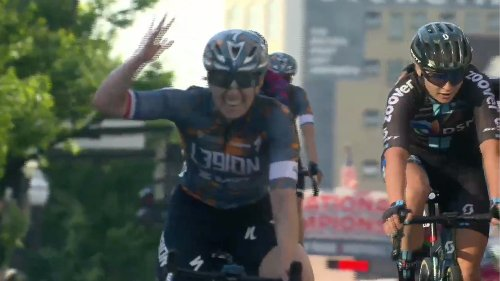 Kendal Ryan rides off the front to win 2021 U.S. national criterium championship | VeloNews.com