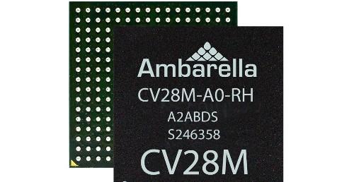 Ambarella launches computer vision chips for edge AI