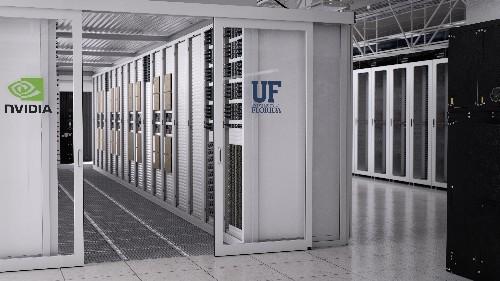 Nvidia collaborates with the University of Florida to build 700-petaflop AI supercomputer