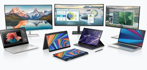HP launches laptops and monitors designed for work-from-home life
