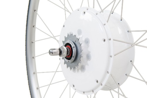 FlyKly electric bike wheel makes riding a bike feel like the wind's at your back