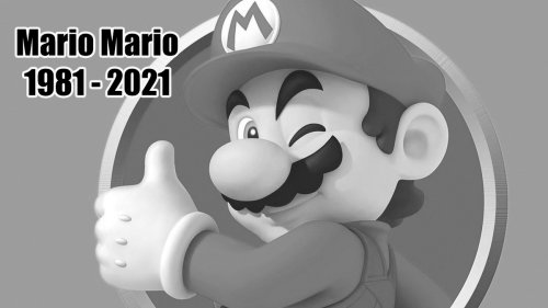 Our very serious obituary for Mario
