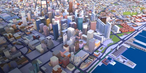 Here debuts enterprise XR- and 5G-ready 3D models of 75 major cities