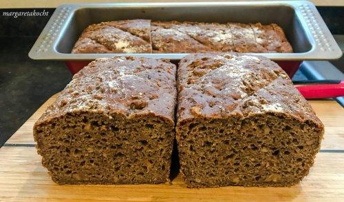 einfaches Nussbrot (und) Brot backen am Sonntag
