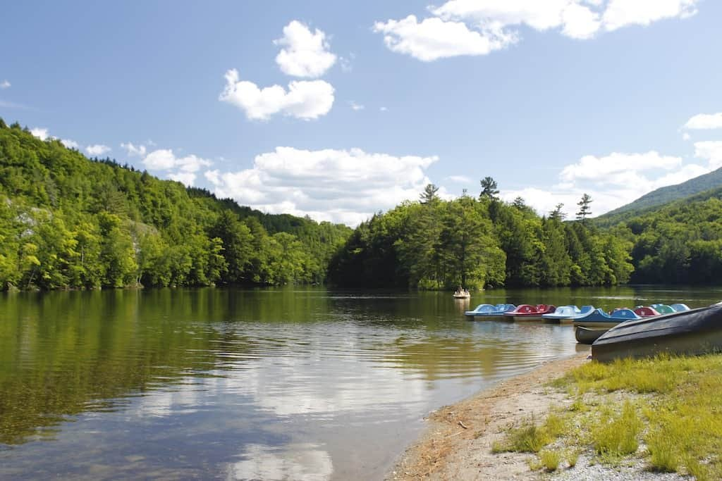 Summer Fun at Emerald Lake State Park in Vermont