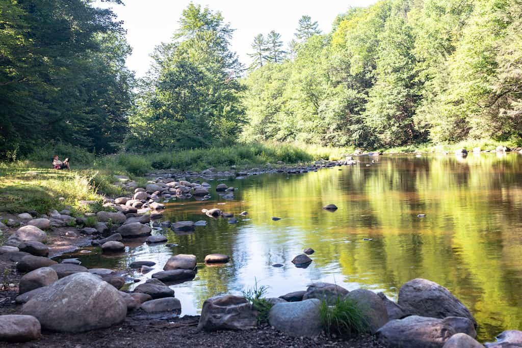 Exploring Jamaica State Park in Vermont