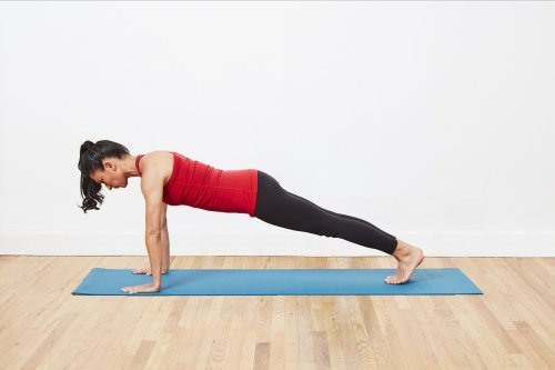 Plank to Improve Core Strength