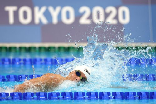 Olympic Swimmer's Vaccination Status Sparks COVID-19 Safety Discussion