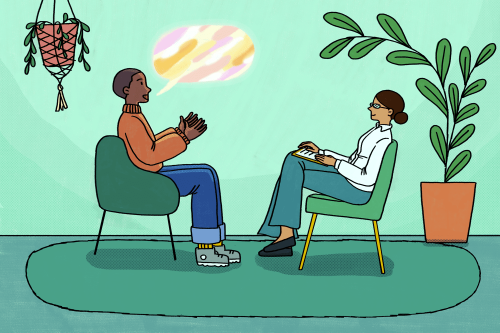 The 5 Most Common Things People Tell Their Therapist