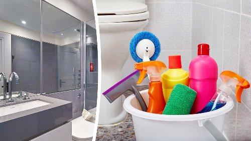 7 trucchi facili e naturali per far brillare il bagno