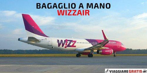 Bagaglio a mano Wizz Air: peso, dimensioni e misure aggiornate al 2020