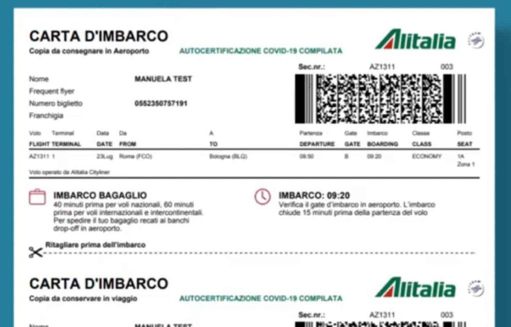 Alitalia - cover