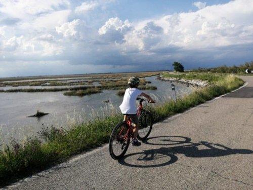 Veneto significa pedalare dalle Dolomiti al mare Adriatico