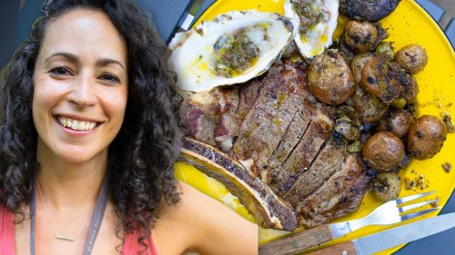 Surf & Turf Camping With Farideh - The Cooking Show