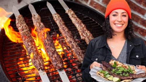Farideh's Fire-Licked Beef Kababs - The Cooking Show
