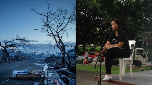 She Survived a Typhoon That Killed Her Family. Now She's Fighting Big Energy