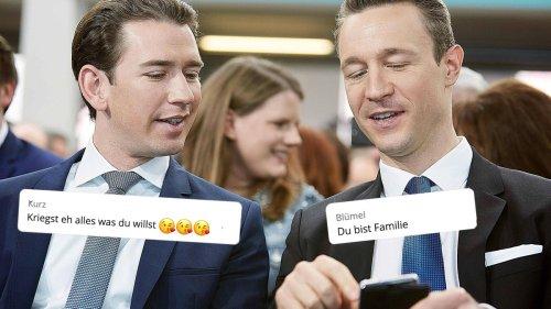 Österreich: So bizarr sind die geleakten Regierungs-Chats