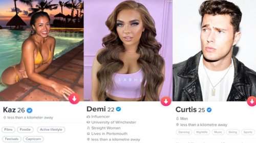 A bunch of single Love Islanders are joining Tinder