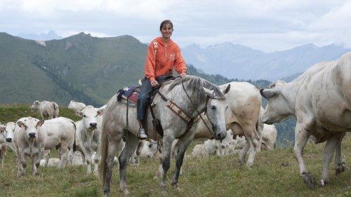 Het leven van een jonge veehouder in de Italiaanse Alpen