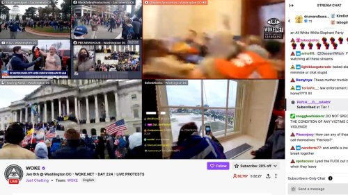 Trump Loyalists Are Livestreaming While They Storm the Capitol
