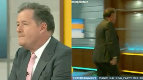Piers Morgan Stormed Off Set Because Meghan Markle Doesn't Want to Be His Friend :(