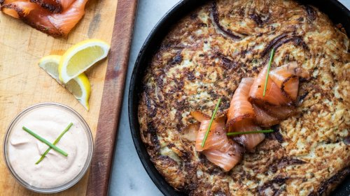 Celery Root and Potato Rösti Recipe