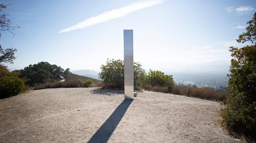 Mysterious Monolith Update: Third Monolith Appears Atop California Mountain